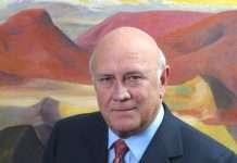 FW de Klerk - Former President South Africa