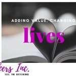 Adding Value, Changing lives